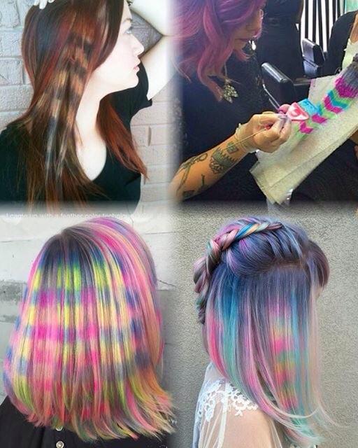 Hair Color Blu Owl Gypsy